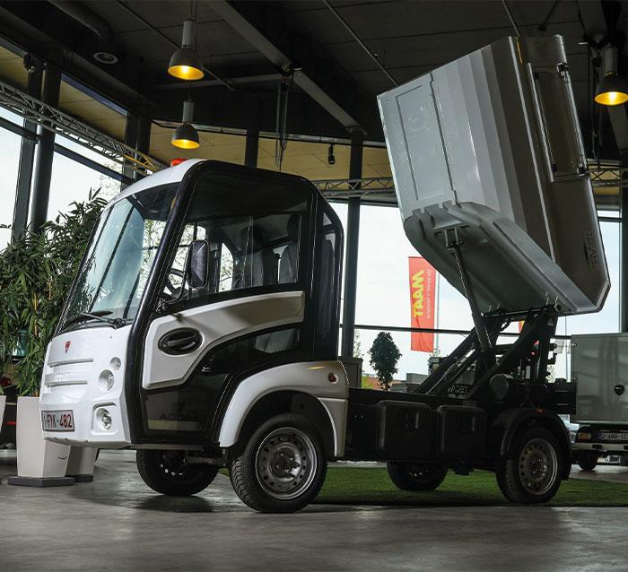 MAAT Logistiek Kiepwagen