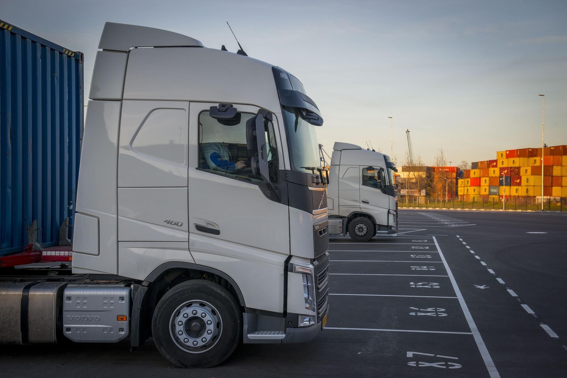 Truckparking Waalhaven Bodaanweg